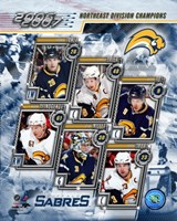 '06 / '07 Sabres Eastern Division Champions Composite Fine-Art Print
