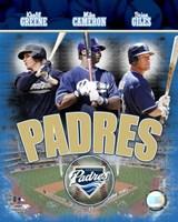 Padres 2007 - Big 3 Hitters Fine-Art Print