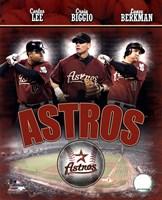 2007 - Astros Big 3 Hitters Fine-Art Print