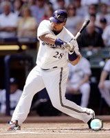 Prince Fielder - 2007 Batting Action Fine-Art Print