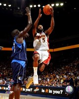 Baron Davis - '07 Playoff Action Fine-Art Print