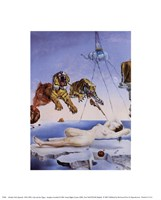 Dream Caused by the Flight of a Bee Around a Pomegranate, A Second Before Awakening, c.1944 Fine-Art Print