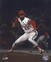 Bruce Sutter - Pitching Action (Cardinals) Fine-Art Print