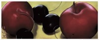 Red Plums & Cherries Fine-Art Print