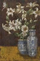 Delft Lilies Fine-Art Print