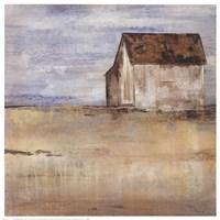 Barn & Field I Fine-Art Print