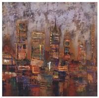 City Lights I Fine-Art Print