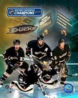 2007 - Ducks Western Conf. Champs /  Big 4 Fine-Art Print