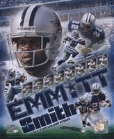Emmitt Smith - 2007 Legends Composite Fine-Art Print