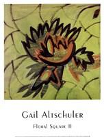Floral Square II Fine-Art Print