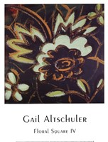 Floral Square IV Fine-Art Print