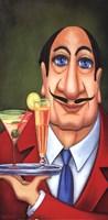 Sirio the Waiter Fine-Art Print