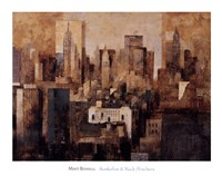 Manhattan & Black Structures Fine-Art Print