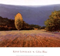Coline Bleue Fine-Art Print