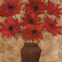 Crimson Explosion I Fine-Art Print
