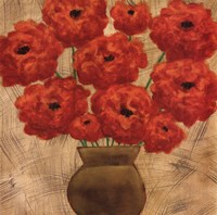 Crimson Explosion II Fine-Art Print