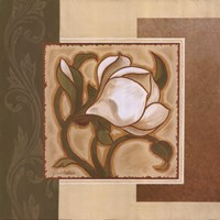Golden Magnolia I Fine-Art Print
