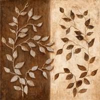 Russet Leaf Garland I Fine-Art Print