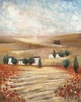 Hill Town Landscape I Fine-Art Print