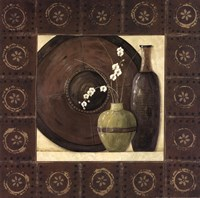 Asian Still Life With Border II Fine-Art Print