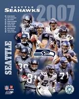 2007 - Seahwks Team Composite Fine-Art Print