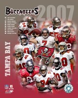 2007 - Buccaneers Team Composite Fine-Art Print