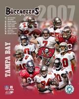 2007 - Buccaneers Team Composite Fine-Art Print