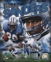 Barry Sanders - Legends Composite Fine-Art Print