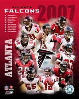 2007 - Falcons Team Composite Fine-Art Print