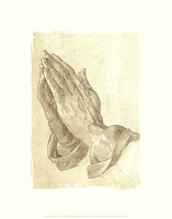 Praying Hands, c.1508 (sepia) Fine-Art Print