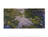 Water Lilies, 1917/1919 Fine-Art Print