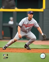 Travis Hafner - 2007 Fielding Action Fine-Art Print