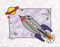 Rocketship I Fine-Art Print