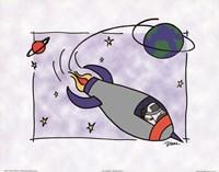 Rocketship II Fine-Art Print