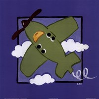Kiddie Plane Fine-Art Print