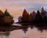 Pine Lake I Fine-Art Print