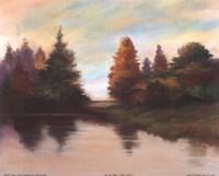 Pine Lake II Fine-Art Print
