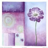 Poppy Blues I Fine-Art Print