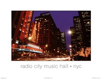 Radio City NYC Fine-Art Print