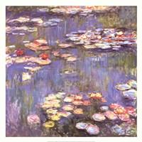 Water Lilies, c.1916 Fine-Art Print