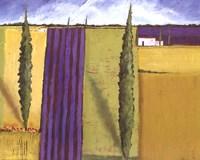 Lavender Field I Fine-Art Print