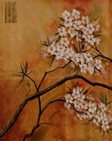 Oriental Blossoms I Fine-Art Print