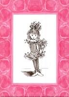 Sugar Plum Ballerina Framed Print