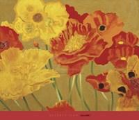 Poppy Garden I Fine-Art Print