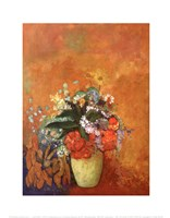 Vase of Flowers, c.1905 Fine-Art Print