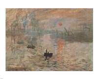 Impression, Sunrise, c.1872 (green) Fine-Art Print