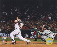 Dustin Pedroia  -'07 ALCS / Game 7 Home Run Fine-Art Print