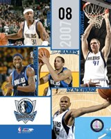 '07 / '08 Mavericks Team Composite Fine-Art Print