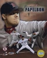 Jonathan Papelbon - 2007 World Series / Portrait Plus Fine-Art Print