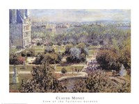 View of Tuileries Gardens Fine-Art Print